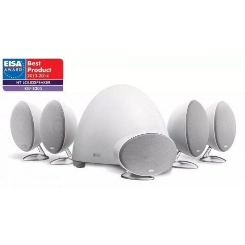 Kef E305 5.1 biały