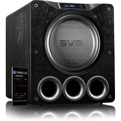 SVS PB16-Ultra Black Ash