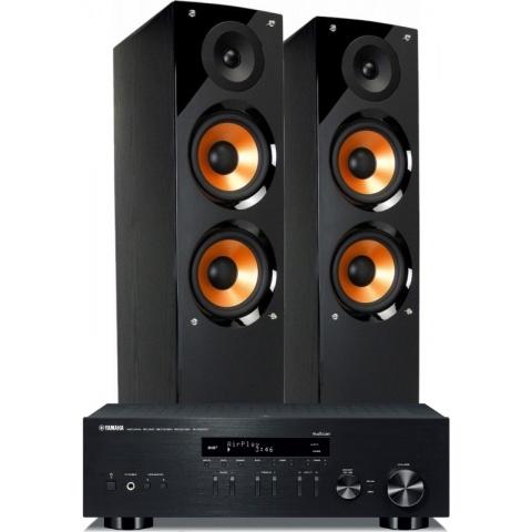 Yamaha R-N303D + Pure...