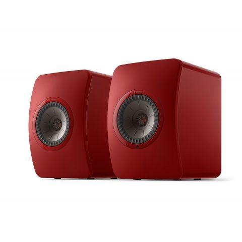 KEF LS50 Wireless II Czerwony